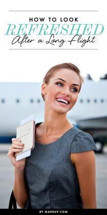 wedding photo - How to Look Refreshed After a Long Flight