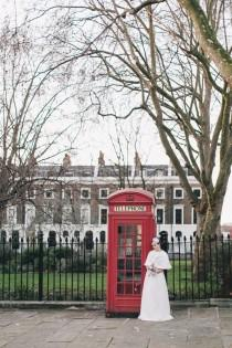 wedding photo - Retro London Elopement