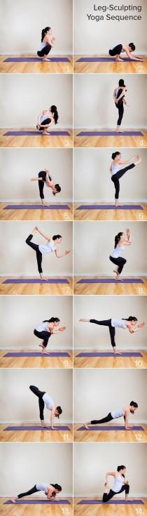 wedding photo - Holy Hot! Yoga Sequence To Do Your Tight Pants Justice