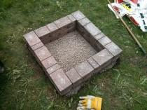 wedding photo - How to Make Square Fire Pit - DIY & Crafts - Handimania