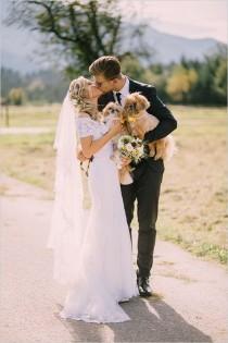 wedding photo - Rustic Chic Wedding In Slovenia