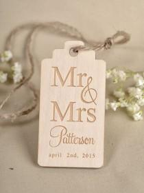 wedding photo - Custom Listing (20) Custom Wooden Heart Thank You Tag , Engraved Wedding Wood Tag, Favors Tags Wedding, Gift Tag Rustic, Rustic Favor Tags
