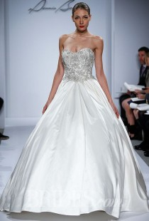 wedding photo - Dennis Basso For Kleinfeld Wedding Dresses - Spring 2014 - Bridal Runway Shows - Brides.com