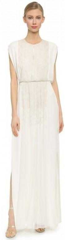 wedding photo - J. Mendel Embroidered Gown