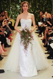 wedding photo - Carolina Herrera Wedding Dresses - Spring 2016 - Bridal Runway Shows - Brides.com