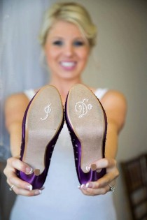 wedding photo - Wedding Shoes I DO  Crystal Shoe Stickers - Wedding Shoe Decal - Wedding Shoe Sticker - Wedding Accessory For Shoes - Clear I Do For Shoes