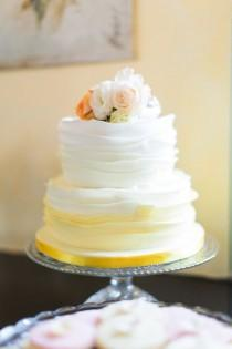 wedding photo - An Eclectic Pink And Peach Wedding