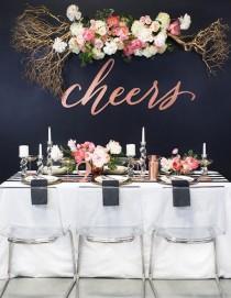 wedding photo - Whimsical New Years Wedding Inspiration