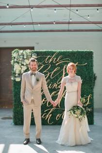 wedding photo - Romantic Organic Wedding at Elysian LA
