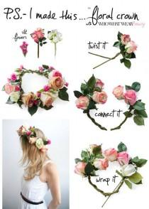 wedding photo - Floral Crowns