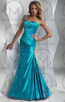 wedding photo -  One shoulder formal dresses for women .com