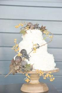wedding photo - Fall Wedding Ideas With A Floral And Wheat Bouquet