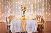 wedding photo - 26 Creative Lighting Ideas For Your Wedding Reception