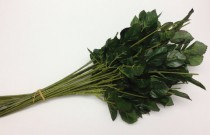 wedding photo - Greenery - 20 Artificial Flower Stems with Dry Look Rose Leaves for DIY Wedding Bouquets, Flower Arrangements