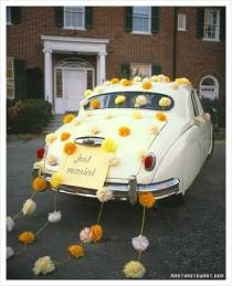 wedding photo - Getaway Cars