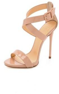 wedding photo - Giuseppe Zanotti Crisscross Patent Sandals