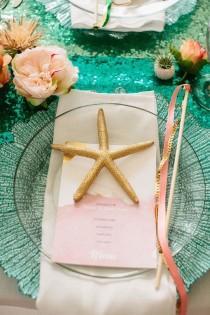 wedding photo - 'Little Mermaid' Wedding Photos For Your Disney-Loving Heart