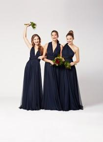wedding photo - Twobirds bridesmaids Gowns - Polka Dot Bride