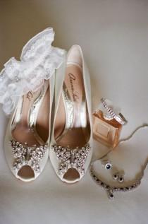 wedding photo - Aruna Seth Butterfly Shoes