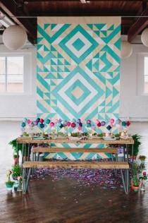 wedding photo - Bold Bright Wedding Ideas
