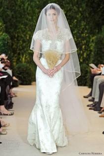 wedding photo - Carolina Herrera Bridal Spring 2014 Wedding Dresses
