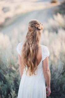 wedding photo - 20 Bridal Fishtail Braids We Love