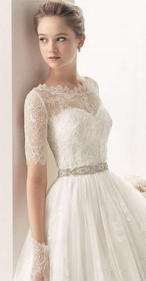 wedding photo - Two By Rosa Clara Wedding Dresses 2014 Bridal Collection