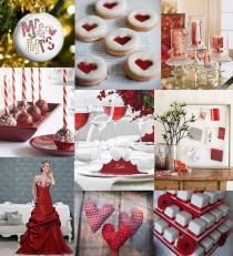 wedding photo - Christmas Wedding