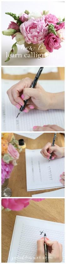 wedding photo - Learn Calligraphy