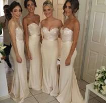 wedding photo - Lace Bridesmaid Dresses, Grey Bridesmaid Dresses, Long Bridesmaid Dresses, Chiffon Bridesmaid Dresses, Sexy Bridesmaid Dresses, 16306 From OkBridal