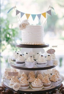 wedding photo - Nontraditional Wedding Cake Ideas