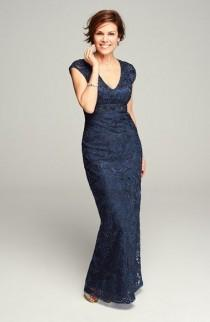 wedding photo - Women's Sue Wong Embellished Illusion Back Gown