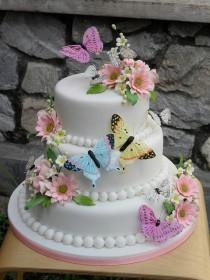 wedding photo - Wedding Cakes And Toppers