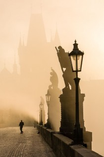 wedding photo - Through The Fog, Prague, Czech Republic Photo Via Jose
