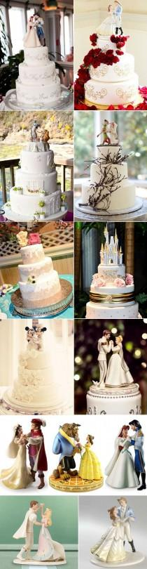 wedding photo - 39 Unique & Funny Wedding Cake Toppers