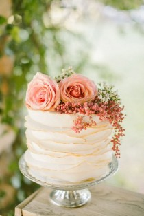 wedding photo - 10 Gorgeous Textured Wedding Cakes