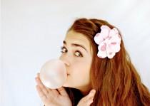 wedding photo - Bubble Gummed Daisy Headband