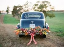 wedding photo - Fall Wedding Colors - Real Weddings - Once Wed