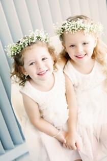 wedding photo - Adorable Flower Girls And Ring Bearers