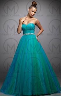 wedding photo -  princess formal dresses from marieaustralia strapless formal dress