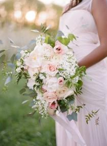 wedding photo - The Kane Show's Danni Starr Looks Beautiful In This Pink Floral Styled Shoot