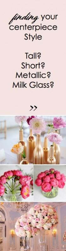 wedding photo - Finding Your Centerpiece Style!