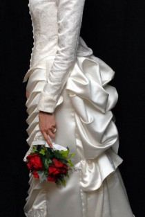 wedding photo - VINTAGE INSPIRED WEDDING GOWNS