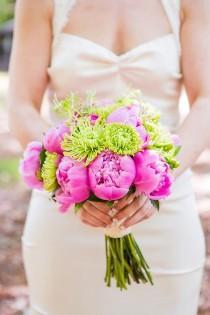 wedding photo - Pink Peonies, Lemons And Vintage Styled Camp Wing Wedding