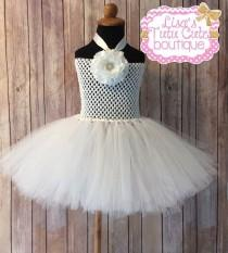 wedding photo - Ready to ship childrens 2t-4t flower girl dress. Christening dress. Baptism dress. Birthday dress. Same day shipping.