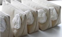 wedding photo - Country Wedding Clutches, Purse, Linen, Fall Wedding, Rustic Wedding, Bridesmaid Gift - Set of 3