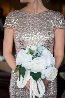 wedding photo - Sparkly Gold Wedding At Casa Monica Hotel, FL