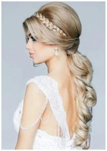 wedding photo - 20 Ponytail Hairstyles: Discover Latest Ponytail Ideas Now