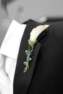 wedding photo - Wedding Corsages And Boutonnieres