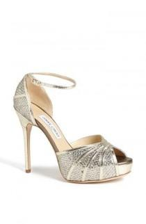 wedding photo - My Favorite Jimmy Choo Wedding Shoes